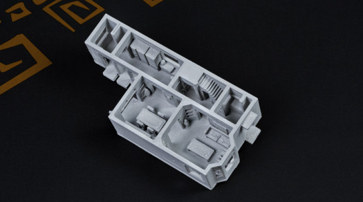 Plastico FDM grigio